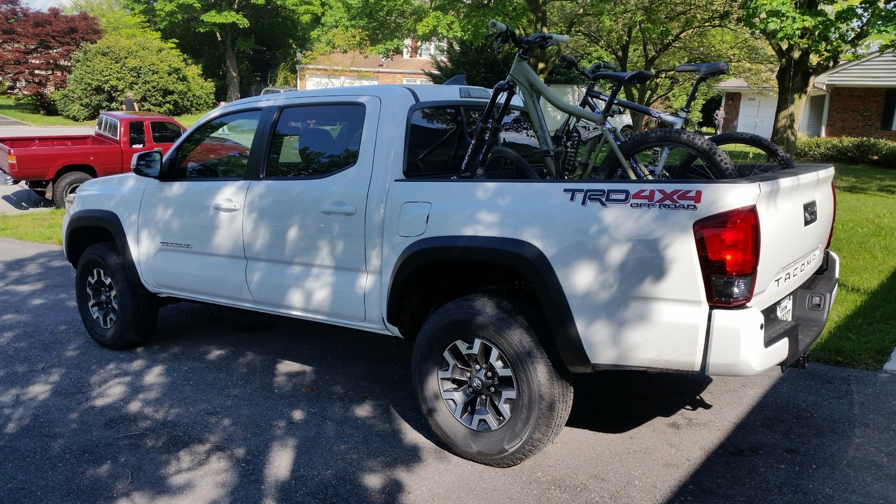 toyota tacoma bike mount