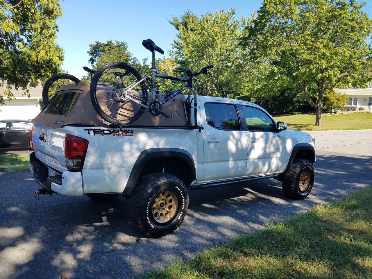 bike rack for 2017 tacoma trd offroad