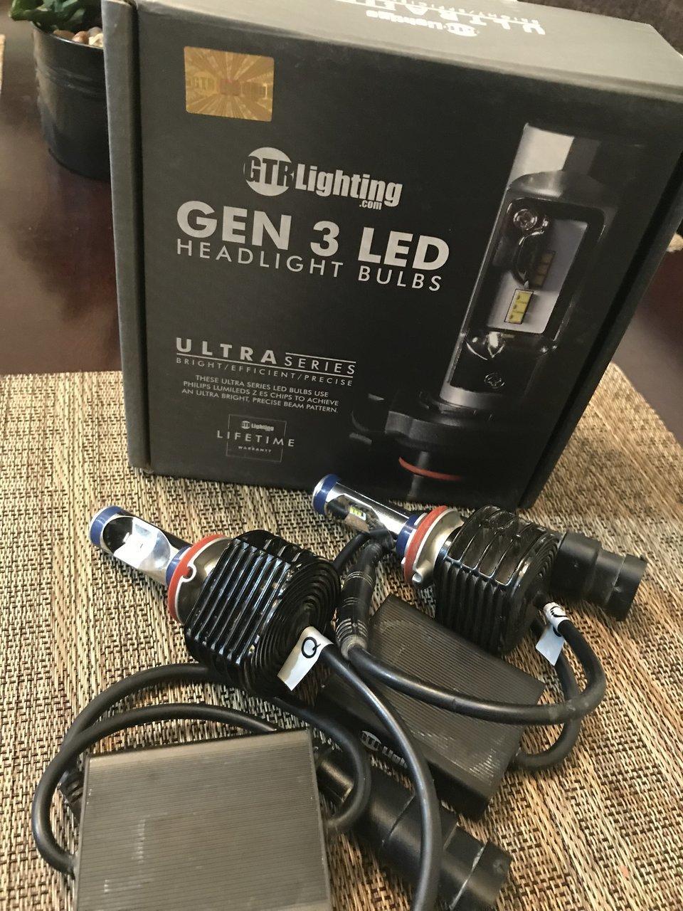 gtr lighting gen 3 led headlight buld