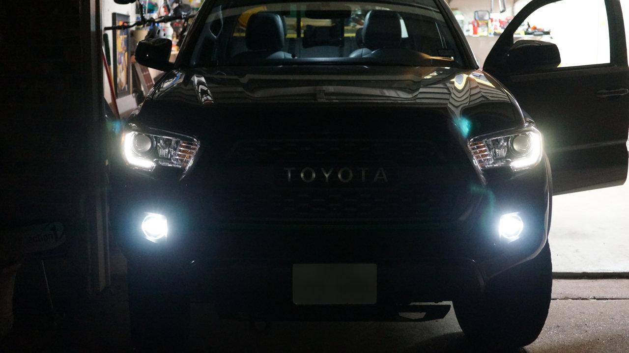 2013 Tacoma Kit Toyota Light Fog