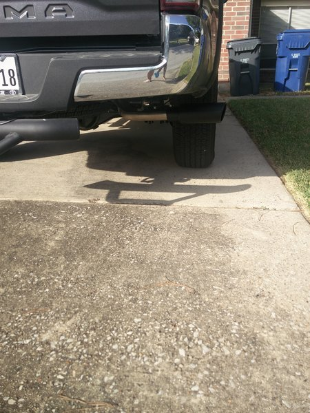 installing exhaust tip help tacoma world