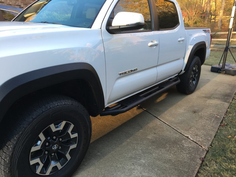 Side Toyota 2014 Step Tacoma Bars