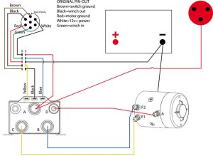Warn m8000 rewiring   Taa World