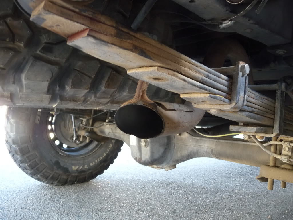 chopping exhaust pipe what to expect