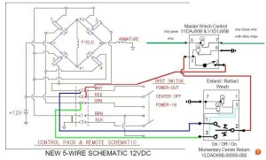 How to Wire XRC8 Winch to In Cabin Switch | Taa World