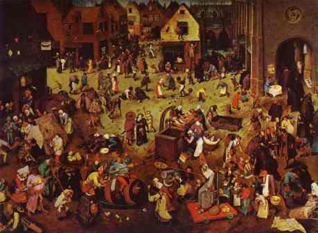Bruegel-Carnival