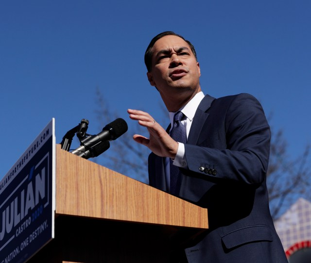 Julian Castro Democratic Presidential Candidate Calls Trump A Failed Leader On Immigration Washington Times