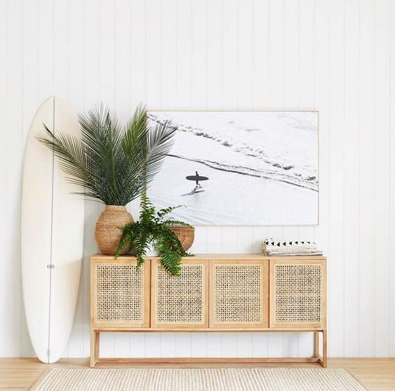 cane sideboard - the resurgence of cane furniture