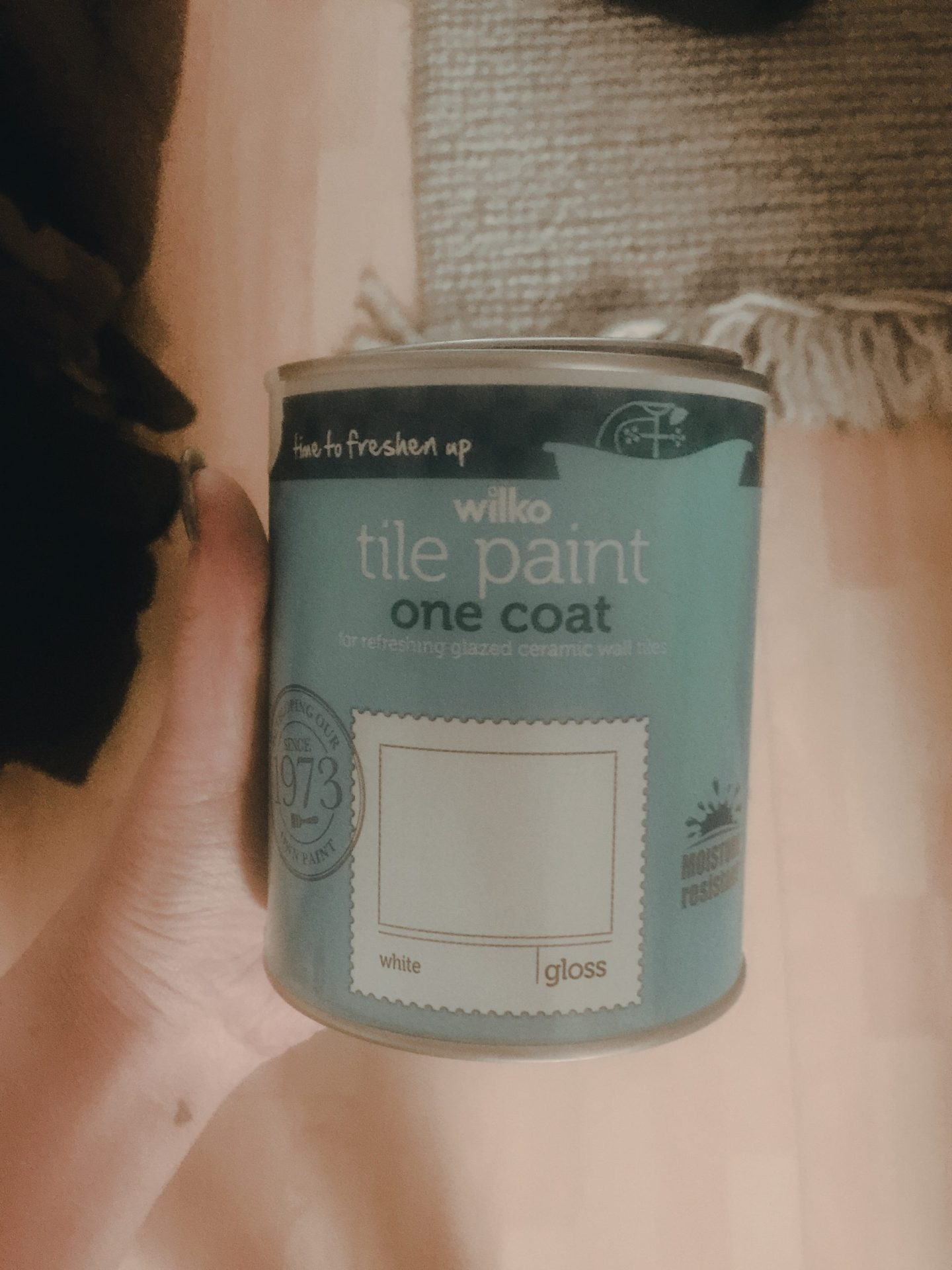 wilko tile paint