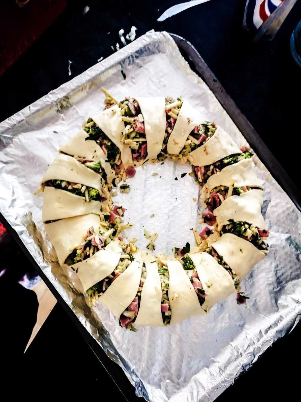 Broccoli and Ham Ring Recipe