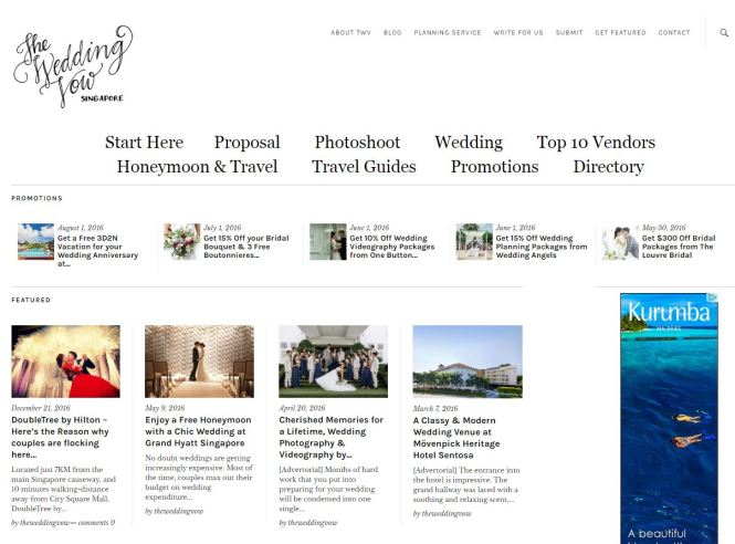 top 10 singapore wedding websites you must know