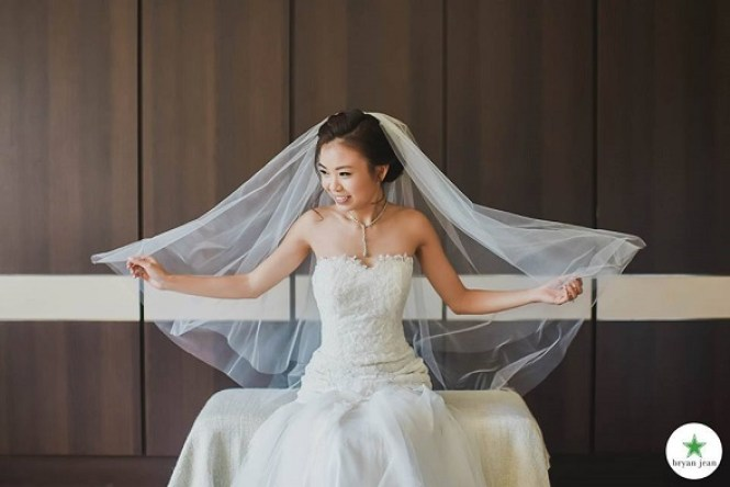 wedding makeup artist singapore Cleo Chang