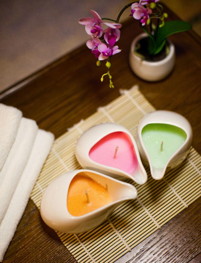 Ikeda Spa Zen Candle Massage