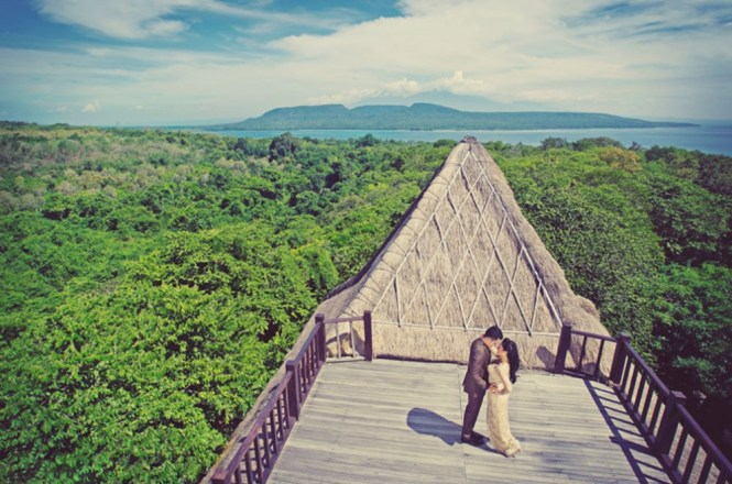 pre-wedding photoshoot locations indonesia - West Bali National Park - TripCanvas