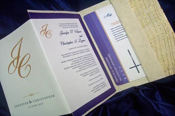 Top 10 bespoke wedding invitation designers in the philippines 16 stopboris Gallery