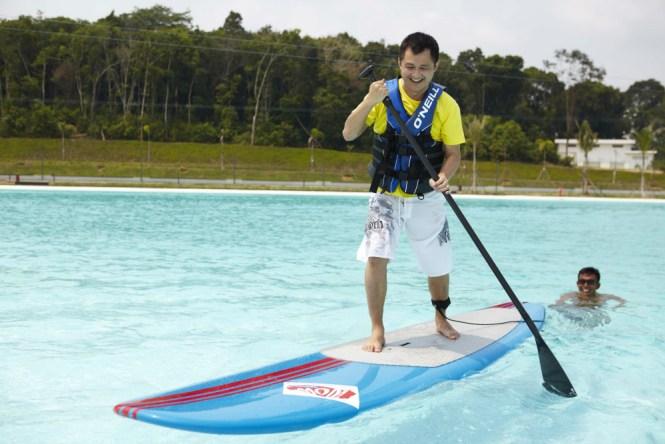 Treasure Bay Bintan Stand up Paddling