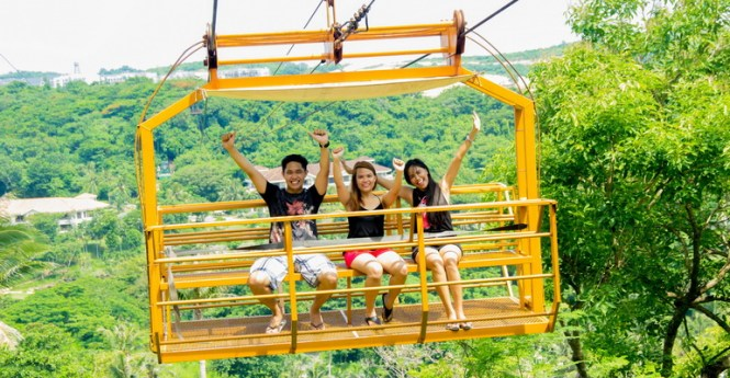 Boracay honeymoon fairways zipline