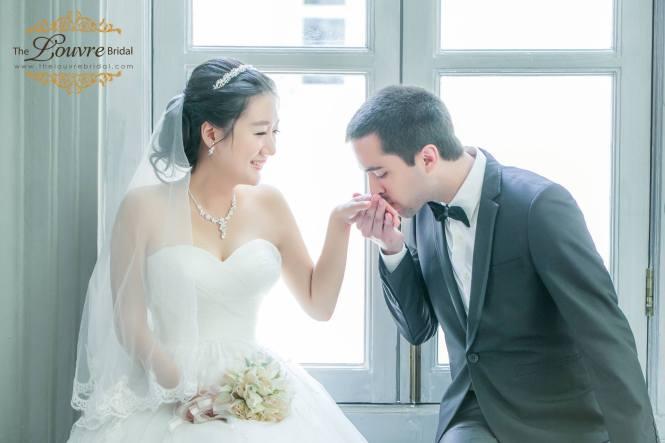 the louvre bridal 1