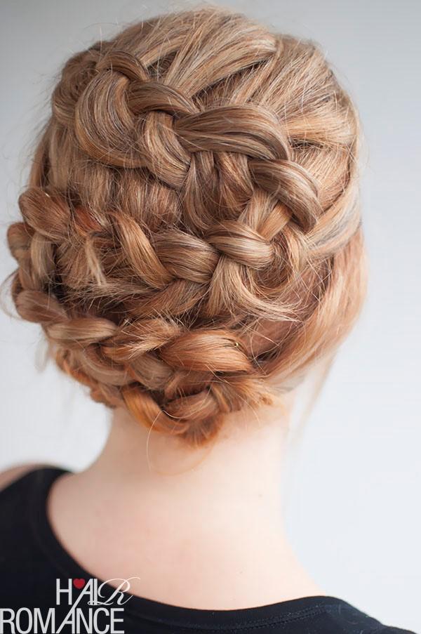 Wedding Hairstyles - Twisting Braid