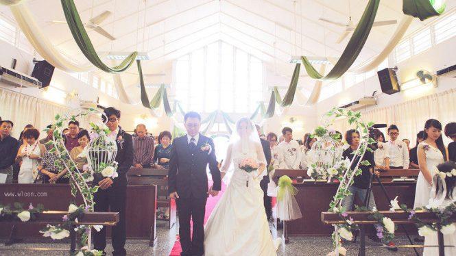 Wedding Venues Malaysia - Sungai Petani Chinese Methodist Church - Wloon Photography