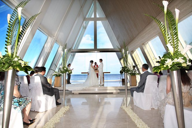 Wedding Venues Bali - Conrad Bali Chapel - Bali for Two