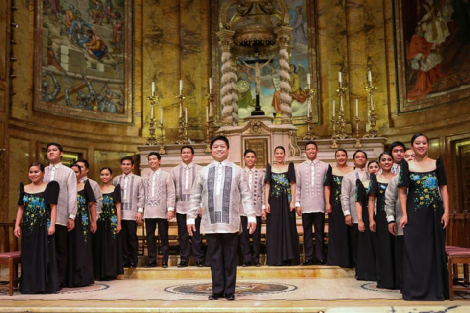 Photo via Philippine Madrigal Singers