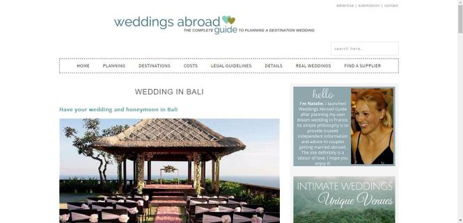 Photo via Weddings Abroad