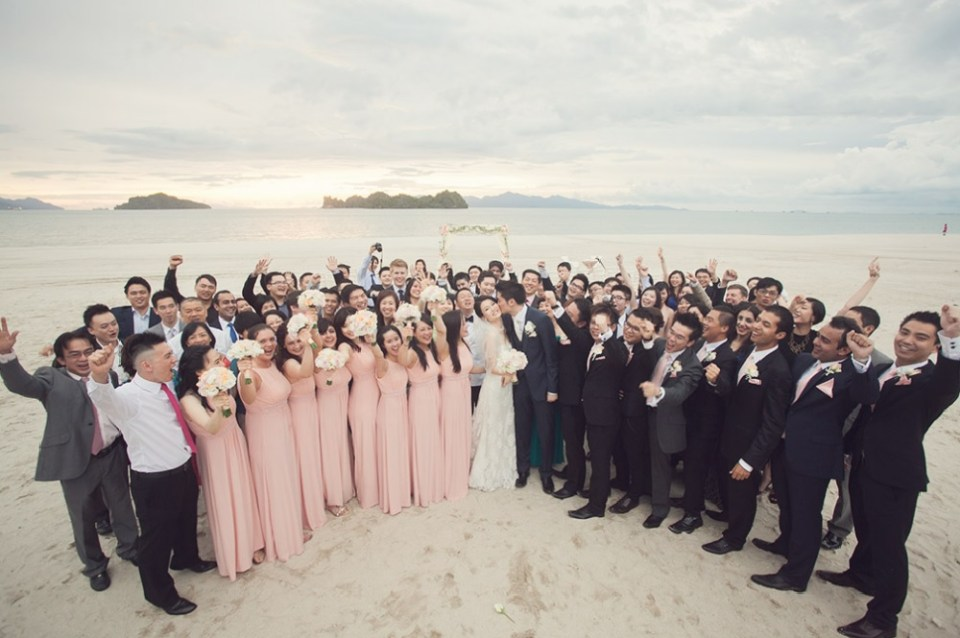 beach wedding venues malaysia - Four Seasons - Jon Low Photography