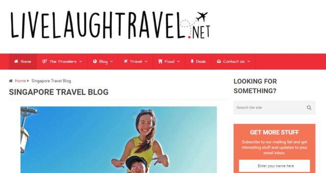 travel blogs singapore - live laugh travel