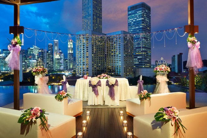 Wedding Solemnisations at Night 1 - Naumi Hotel