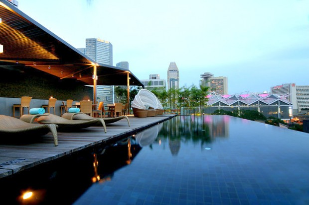 Naumi hotel Wedding Solemnisations - cloud 9 infinity pool rooftop