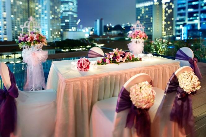 Wedding Solemnisations at Night - Naumi Hotel