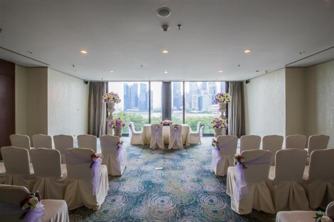 Mandarin Oriental Wedding Harbour View Suites