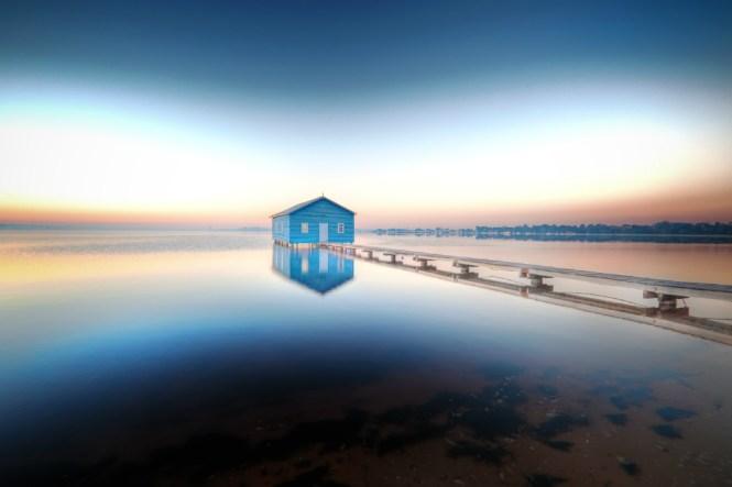 Australia Honeymoon Perth Blue House