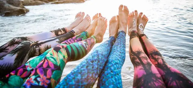 Yoga Leggings Made Using Recycled Plastic Water Bottles-TNILIVE Telugu Fashion News
