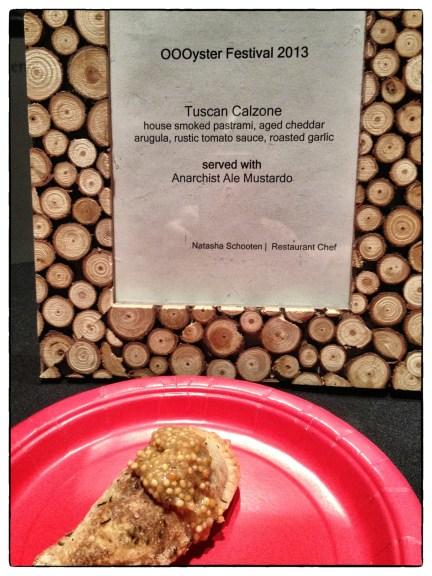 Tuscan Calzone by Chef Natasha Schooten of Hester Creek