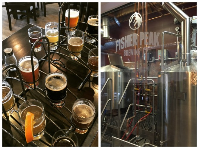 Fisher Peak beer tasting and brewery tour at The Heidout