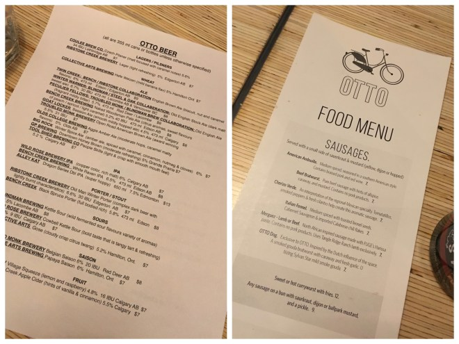 Otto menus