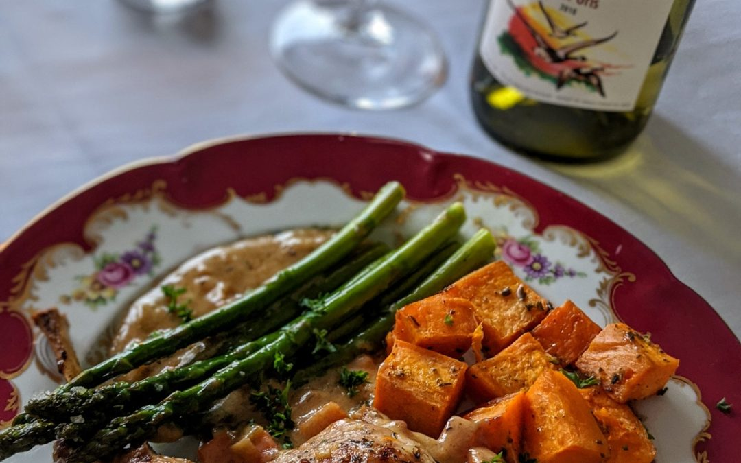 French Comfort Food: Rabbit Braised in Cider
