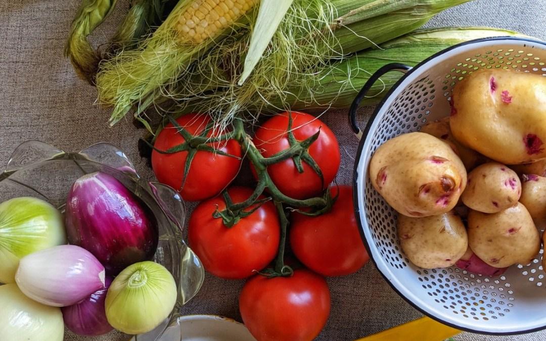 Seasonal Eating: August's Bounty