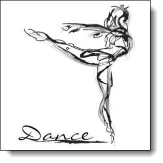 Dancer Sketch - Art in Motion