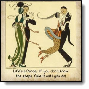 Check out all the products with the Life's a Dance Art Deco Design!