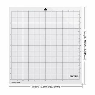 Nicapa Brand mat for Silhouette Cameo