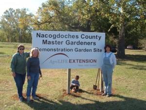 Demonstration Garden Sign