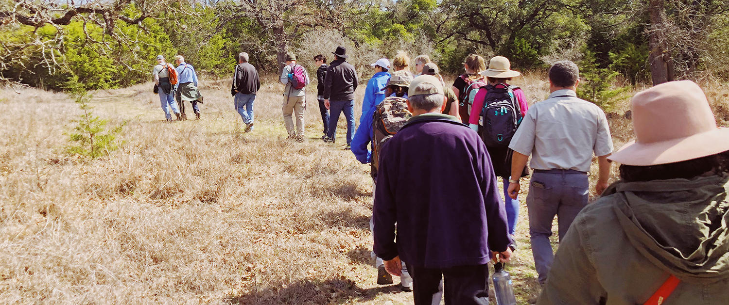 Honey Creek Natural Area at Guadalupe State Natural Area Field Trip