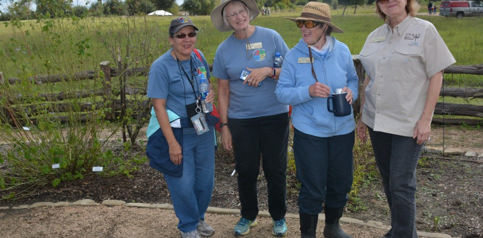 SNF 2018:  CPC members in the Butterfly Garden
