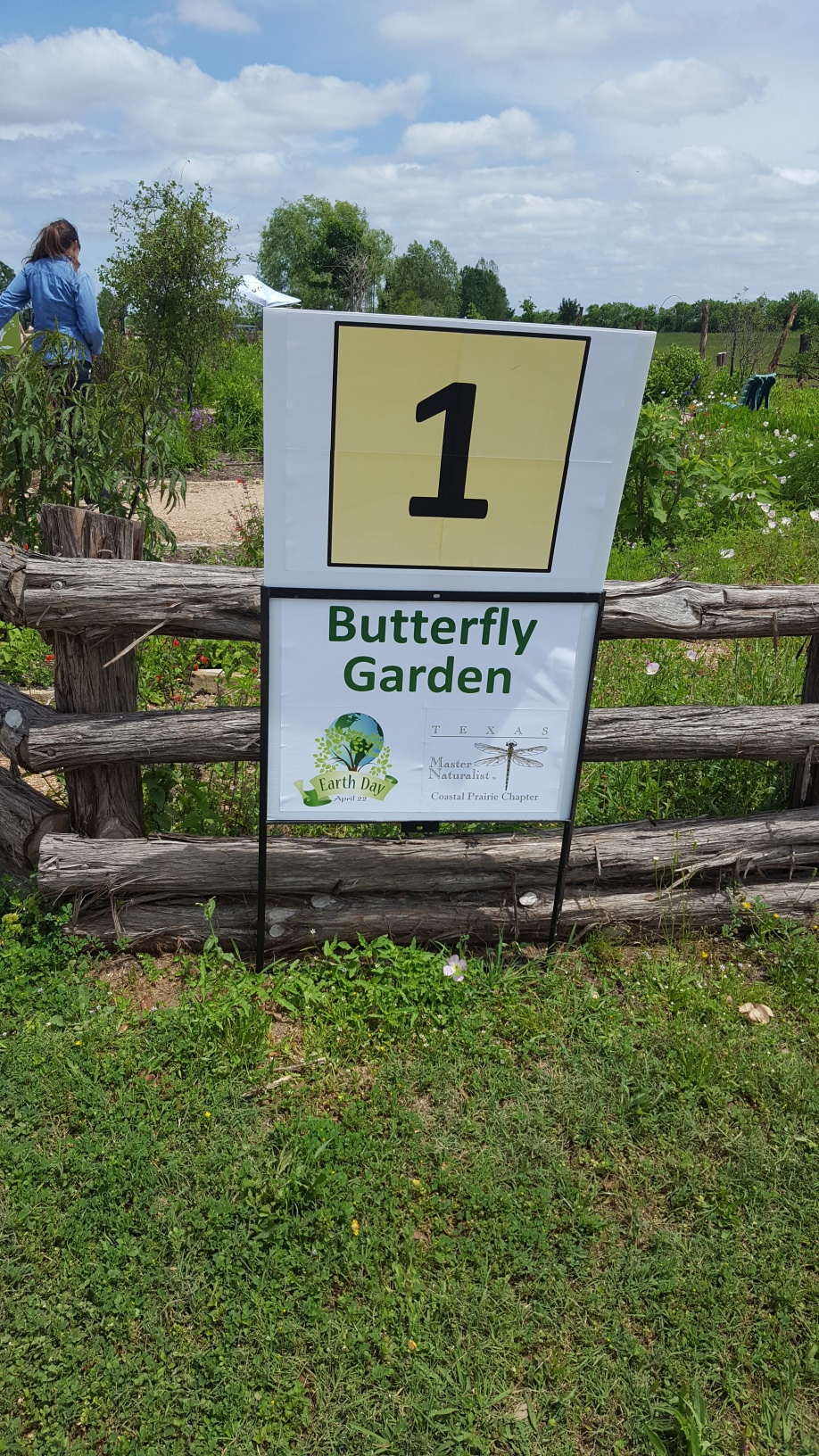 Seabourne Nature Park Butterfly Garden on Earth Day 2019