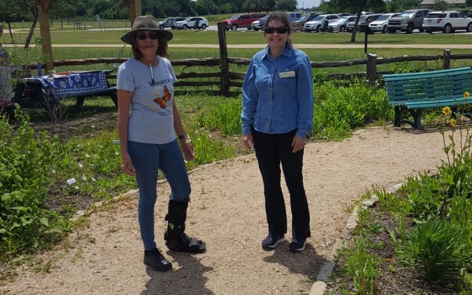Seabourne Nature Park Butterfly Garden on Earth Day 2019 by TMN Kimberly Farou (6)