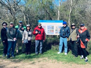 Class of Spring 2020 toured Seabourne Park and got in a little birding.