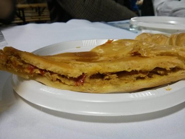 Empanada gallega en MarisGalicia Bilbao.